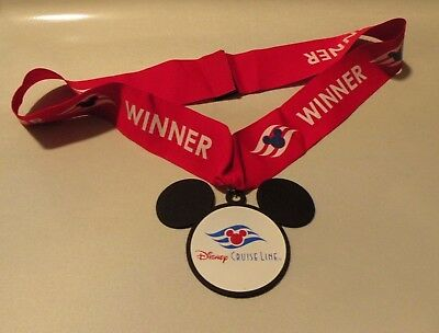 Dcl Disney Cruise Winner Medal Mickey Mouse Icon And Logo