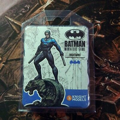 Batman Miniature Game Nightwing New On Blister Unopened Knight Models