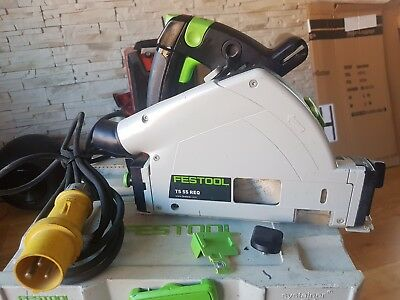 Festool  TS 55 REQ-PLUS GB110V Circular/Plunge Saw in Systainer 4