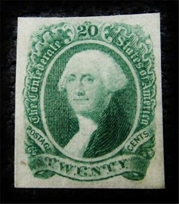 nystamps US CSA Confederate Stamp # 13a Mint OG H $70