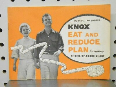 Knox Gelatine Recipes from 1957 Eat and Reduce Plan