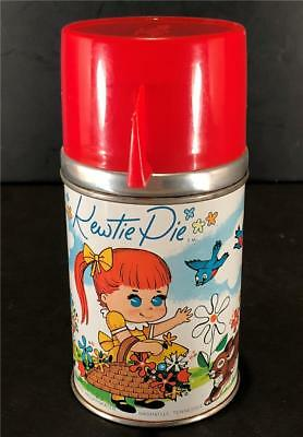"Vintage ""kewtie Pie"" Aladdin Thermos C1960's Complete Very Good Condition"