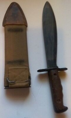 Us Wwi St Louis 1917 Bolo Knife Knife By Plumb Brauer Bros Scabbard