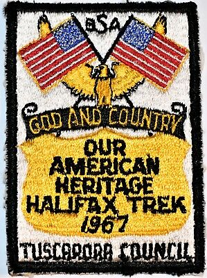 1967 Tuscarora Council  Halifax  Trail Trek North Carolina NC Boy Scouts BSA OA
