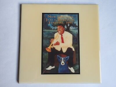 Festival TILE: New Orleans Jazz & Heritage Fest: 1995 LOUIS ARMSTRONG & Blue Dog