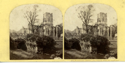 STEREO Angleterre L'abbaye de Fountains STEREO Angleterre L'abbaye de