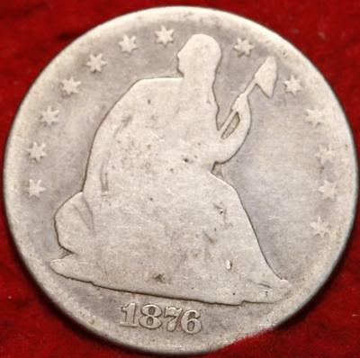 1876-CC Carson City Mint Silver Seated Half Dollar