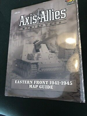 EASTERN FRONT MAP GUIDE Axis & Allies Miniatures Game SEALED