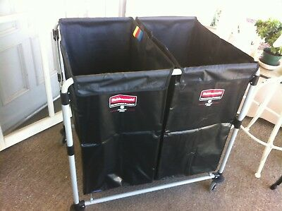 Rubbermaid Collapsible X-Cart Multi stream 8-Bushel  #1881781 New in opened box