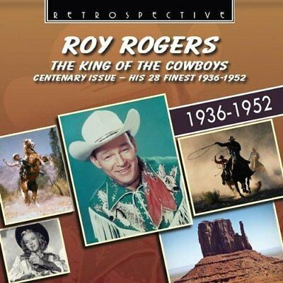 Roy Rogers - King Of The Cowboys (Import) New Cd