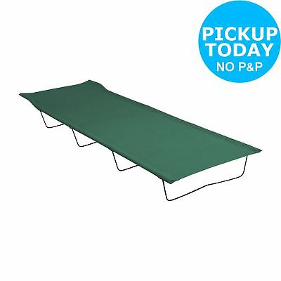 ProAction Single 4 Leg Folding Camping Bed