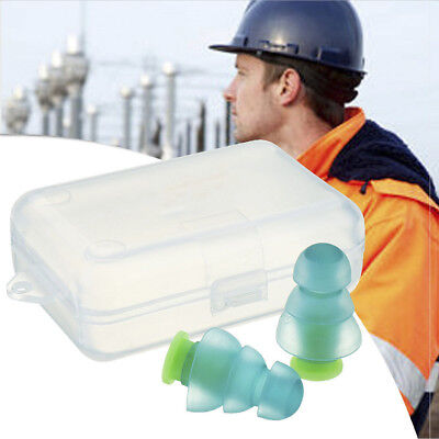 Noise Cancelling Ear Plugs +Box for Sleep Concert Musician Hearing Protection JP