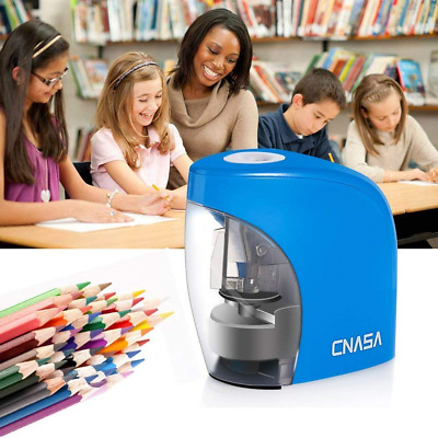 Electric Pencil Sharpener Automatic No.2 Colored Pencil Sharpener Christmas Gift