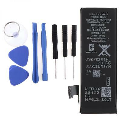 1440mAh 3.8V Li-ion Replacement Internal Battery For Apple iPhone 5 + Tool Kit