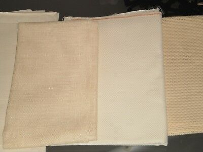 4 Lots Of Aida Embroidery Cloth/fabric