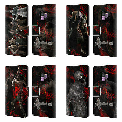 Official Resident Evil Game 4 Creatures Leather Book Case For Samsung Phones 1