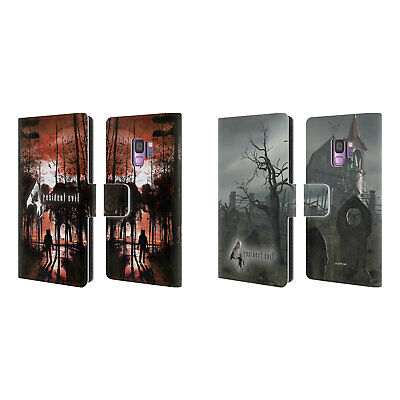 Official Resident Evil Game 4 Key Art Leather Book Case For Samsung Phones 1