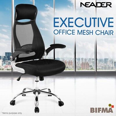 Ergonomic Mesh Office Chair High Back Executive Computer Desk Work Seat