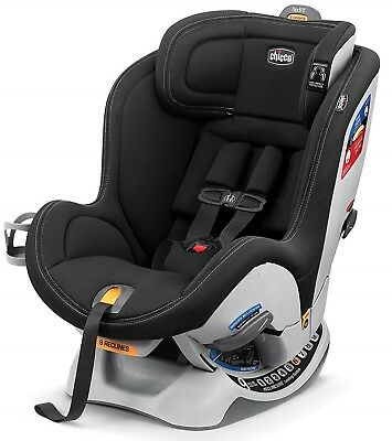 Chicco NextFit Sport Convertible Child Safety Baby Car Seat Black NEW