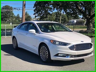 2018 Ford Fusion Titanium 2018 Titanium New 2L I4 16V Automatic FWD Sedan Moonroof