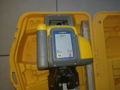 Spectra LL300N Automatic Self-leveling Laser Level w/HL450 Receiver Rod Tripod