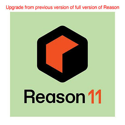 Propellerhead Reason 11 Upgrade from any previous full version, daw