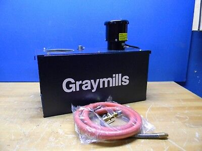 Graymills Flood Coolant Pump System w/ 6 Gallon Tank 115V 6-HR35-A