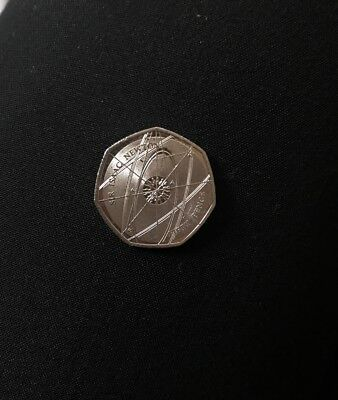Extremely Rare 50p Coin Sir Issac Newton Fifty Pence For Rich Collectors