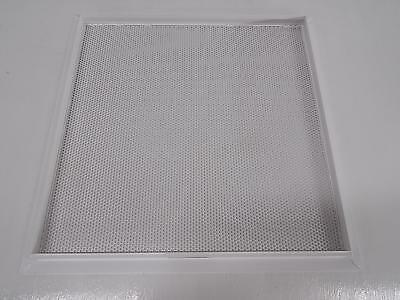 Lot of 93 Krueger V323150, 1100, 1190 Steel Architectural Perforated Diffuser wi