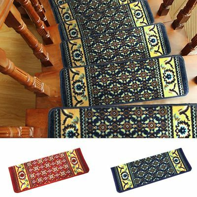 Retro Stair Mat Cover Pads 65*22.5cm Stair Cushion Protective Step Staircase Rug