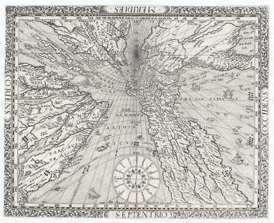 1640 Ritter Sundial Map of the World