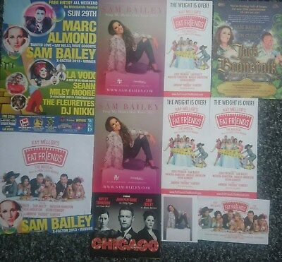 Sam Bailey - Magazine Cuttings/Flyer/Advert Collection
