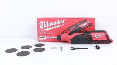 Milwaukee Model 2460-20 M12 12-Volt Lithium-Ion Cordless Rotary Tool -Tool Only