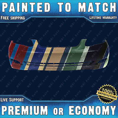 Fits; 2004 2005 2006 2007 2008 2009 Toyota Prius Rear Bumper Painted TO1100239