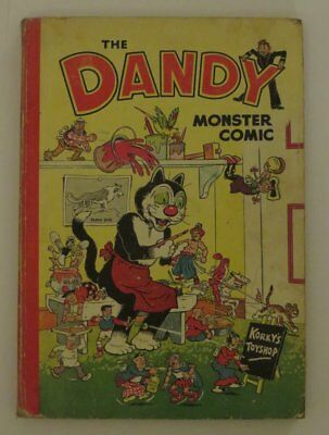 The Dandy Monster Comic Book 1952 Annual OLD & RARE