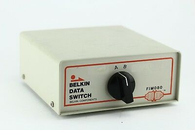 Belkin Data Transfer A/B Switch. Premium Macintosh. Three 8-Pin Ports. F1M080.