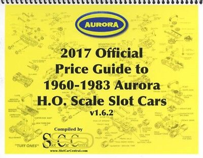 2017 Official Aurora Price Guide to 1960-1983 H.O. Scale Slot Cars v1.6.2