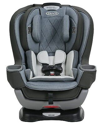 Graco Baby Extend2Fit Platinum Convertible Car Seat Child Safety Hayden NEW