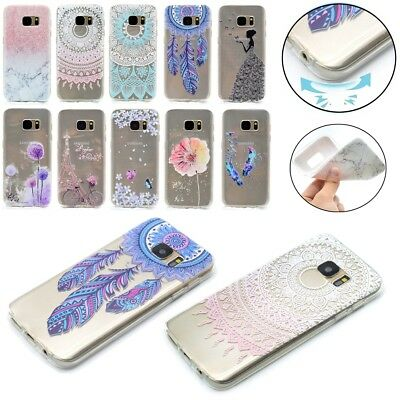 Thin Silicone Case TPU Gel Back Phone Cover For Samsung Galaxy S9 S8 S7 S6 Edge