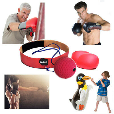 Boxing Reflex Ball Training Boxing With Headband String For Reflex Speed Reflex
