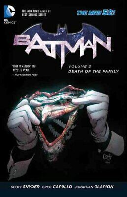 Batman Vol. 3 Death Of The Family (The New 52) by Greg Capullo 9781401246020