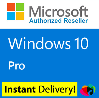 Windows 10 Pro 32 / 64 Bit Win 10 Oem Genuine License Original Activation Key