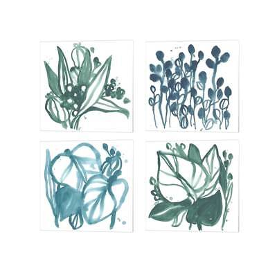 June Erica Vess 'Boho Tropicals' Canvas Art (Set of 4)