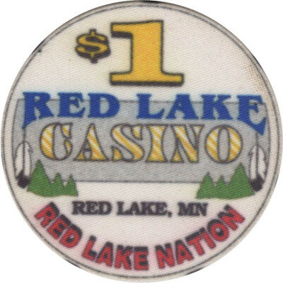 Red Lake Casino - $1 Casino Chip