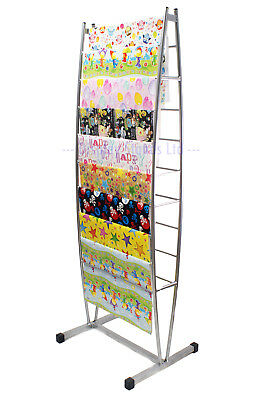 Silver Freestanding Sheet Wrapping Paper Stand Shop Display (K65)