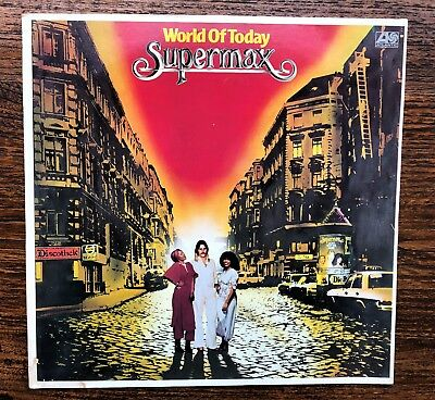 "LP - SUPERMAX:   ""World of today"",  1977, DISCO"