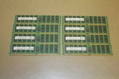 LOT OF 8 SK/HYNIX HMA42GR7AFR4N-TF 16GB 2Rx4 PC4-2133P DDR3 ECC Server Memory