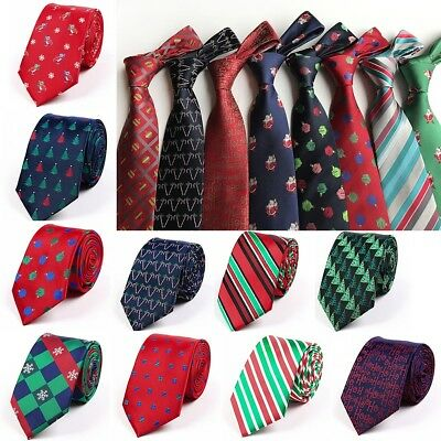 Novelty Men's Tie Classic Christmas Disguised Silk Jacquard Jubilant Necktie Hot