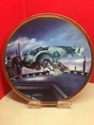 The Slave 1 Boba Fett Plate Star Wars Space Vehicles Collection