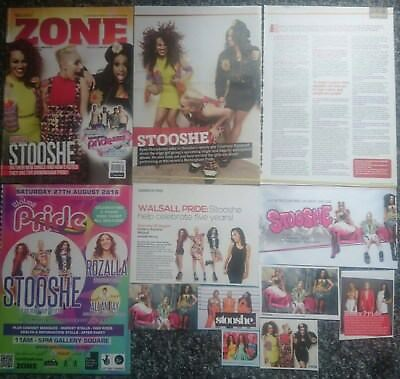 Stooshe - Magazine Advert/Cuttings Collection